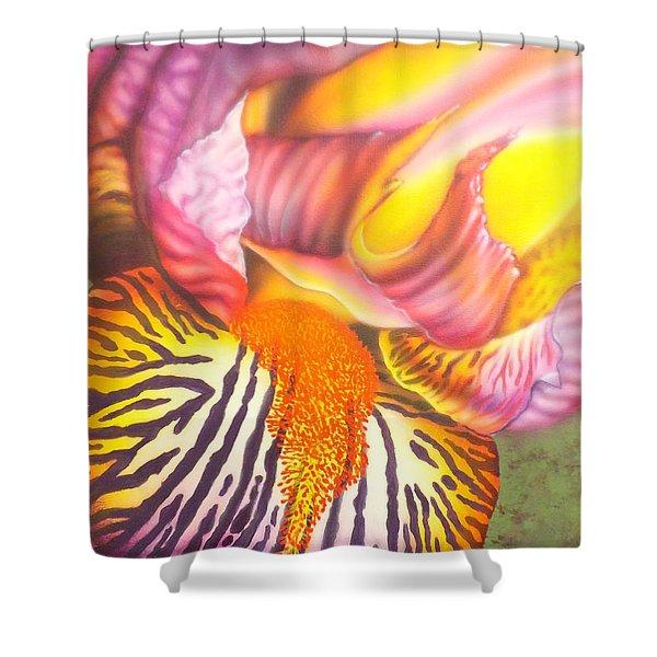 Glavis Iris Shower Curtain