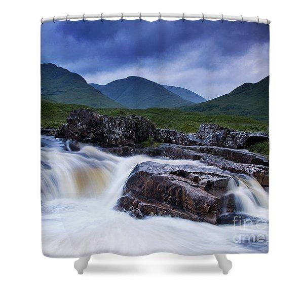 Glen Etive Shower Curtain