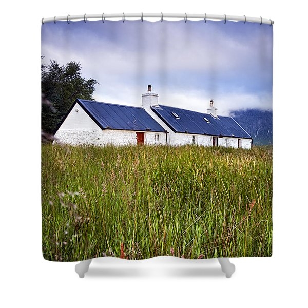 Glencoe Cottage Shower Curtain