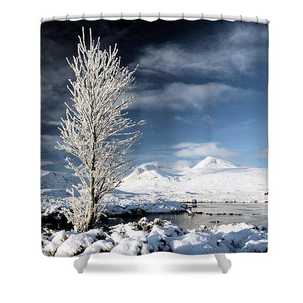Glencoe Winter Landscape Shower Curtain