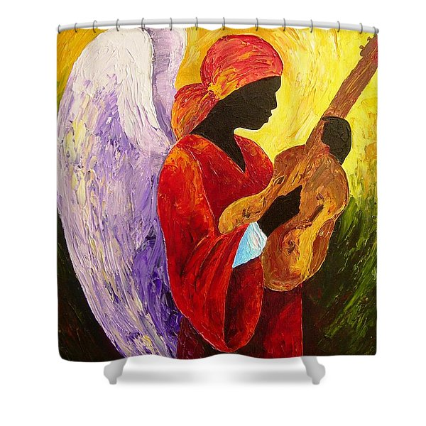 Gloria In Excelcis Deo Shower Curtain