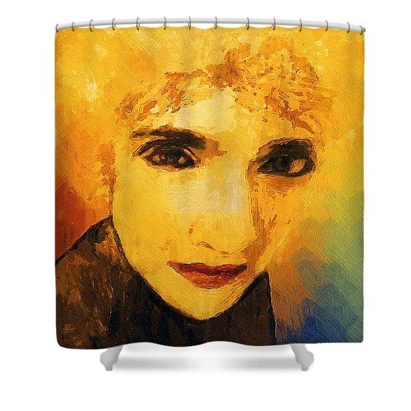 Glorious Crone Shower Curtain