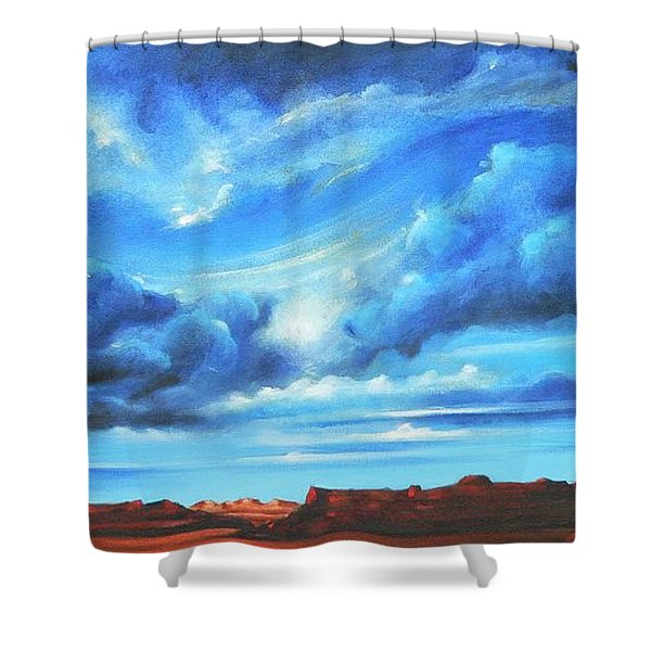 Glorious Morning Shower Curtain
