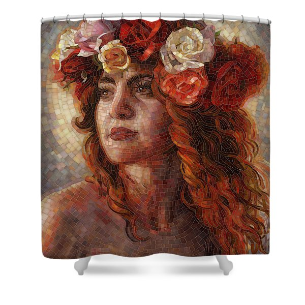 Divine Feminine Shower Curtains Fine Art America