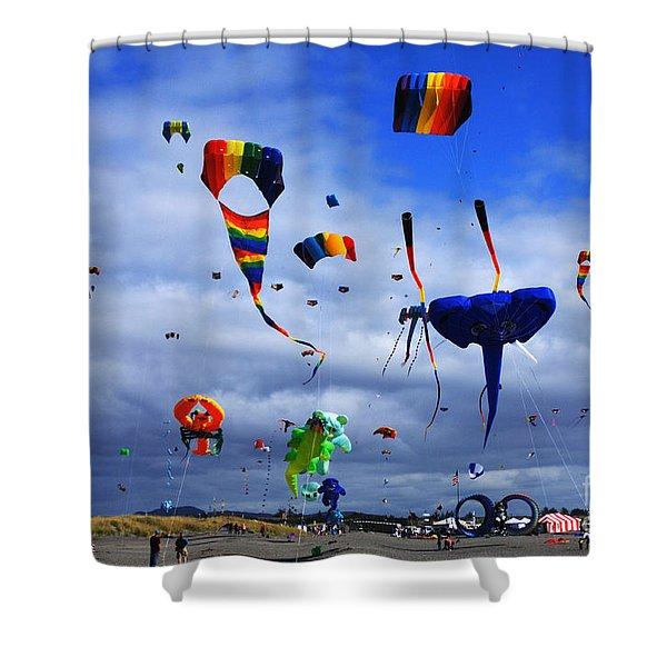 Go Fly A Kite 4 Shower Curtain