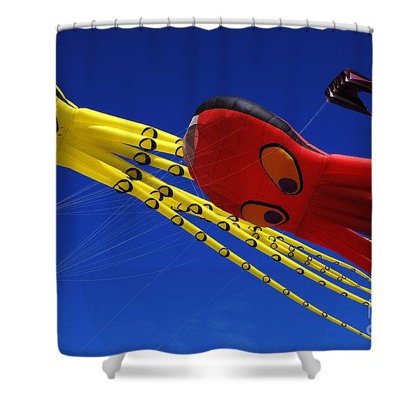 Go Fly A Kite 6 Shower Curtain