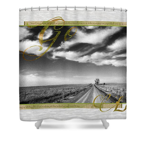 Go Live Shower Curtain