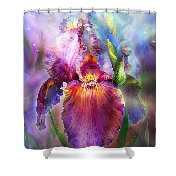Goddess Of Healing Shower Curtain