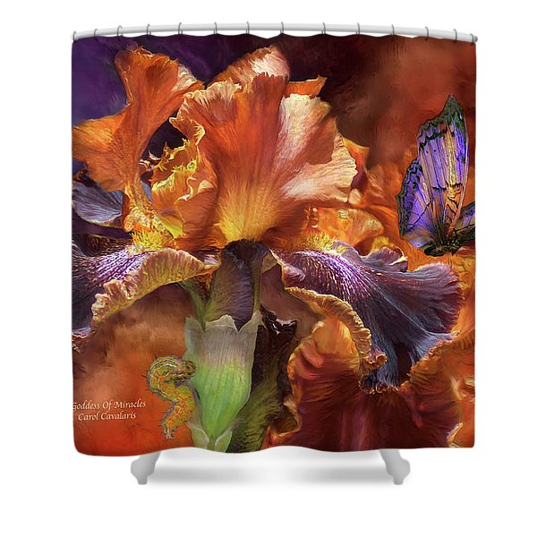 Goddess Of Miracles Shower Curtain