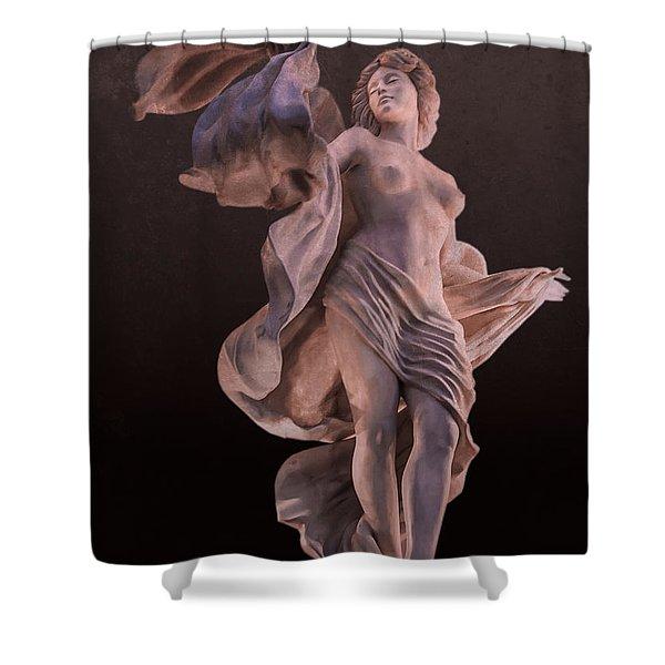 Goddess Of Seduction Shower Curtain