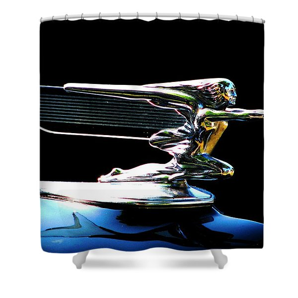 Goddess Of Speed Shower Curtain