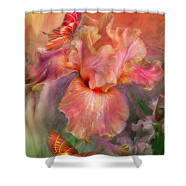 Goddess Of Spring Shower Curtain