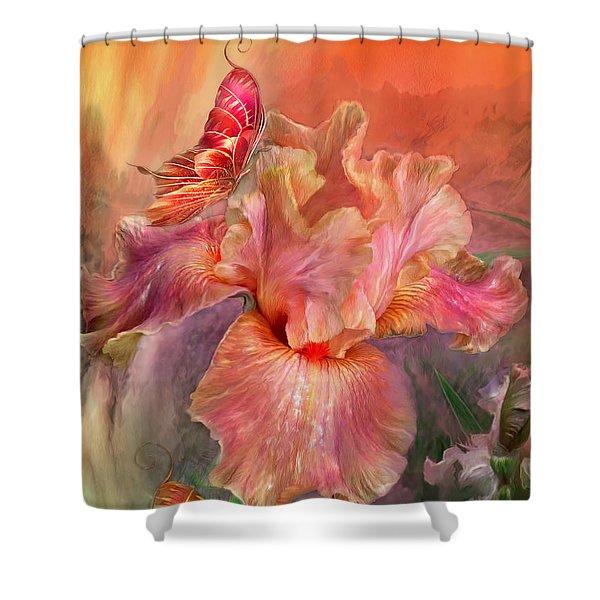 Goddess Of Spring Shower Curtain