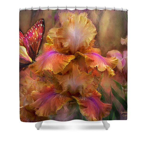 Goddess Of Sunrise Shower Curtain