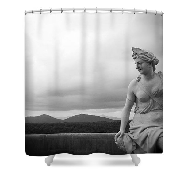Goddess Of The Mountains Shower Curtain