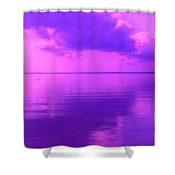 God's Canvas Shower Curtain
