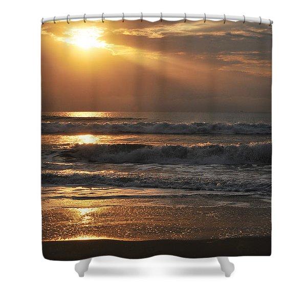 God's Rays Shower Curtain