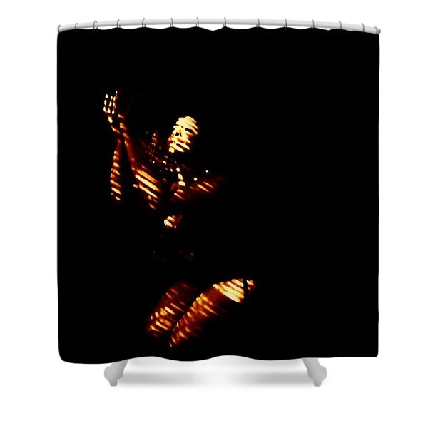 Going Bended Knee  Shower Curtain
