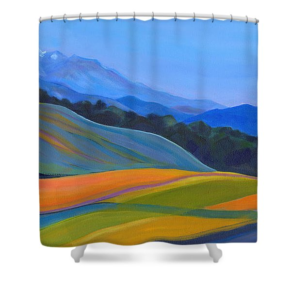 Going To California Shower Curtain