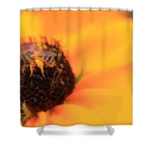 Gold Dust Shower Curtain