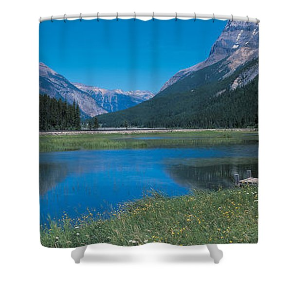 Golden British Columbia Canada Shower Curtain