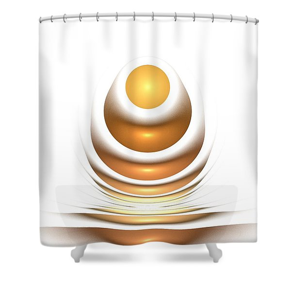 Golden Egg Shower Curtain