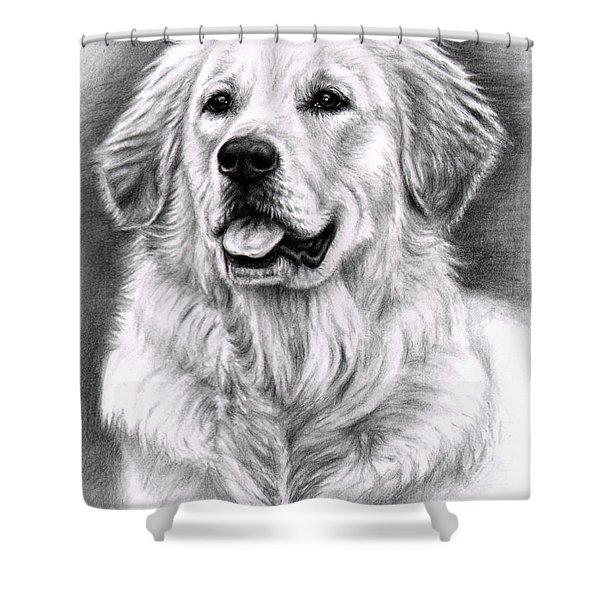 Golden Retriever Spence Shower Curtain