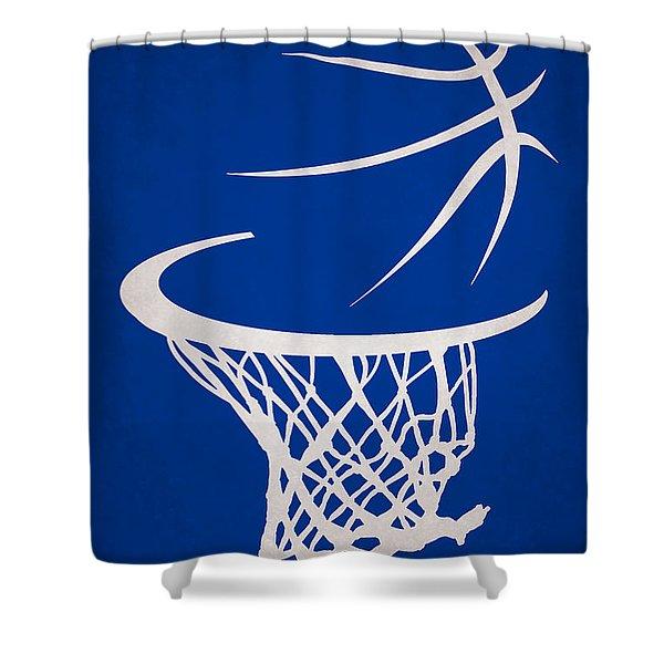Golden State Warriors Hoop Shower Curtain