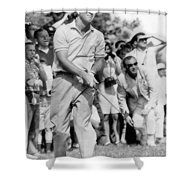 Golfer Arnold Palmer Shower Curtain