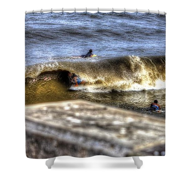 Gone In Seconds Shower Curtain