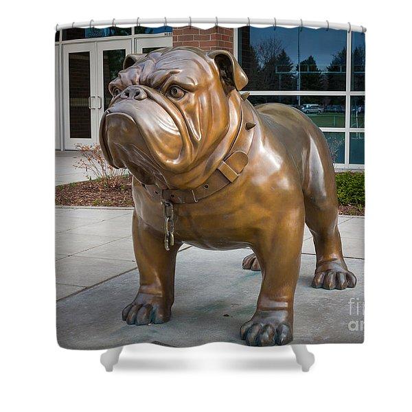 Gonzaga Bulldog Shower Curtain