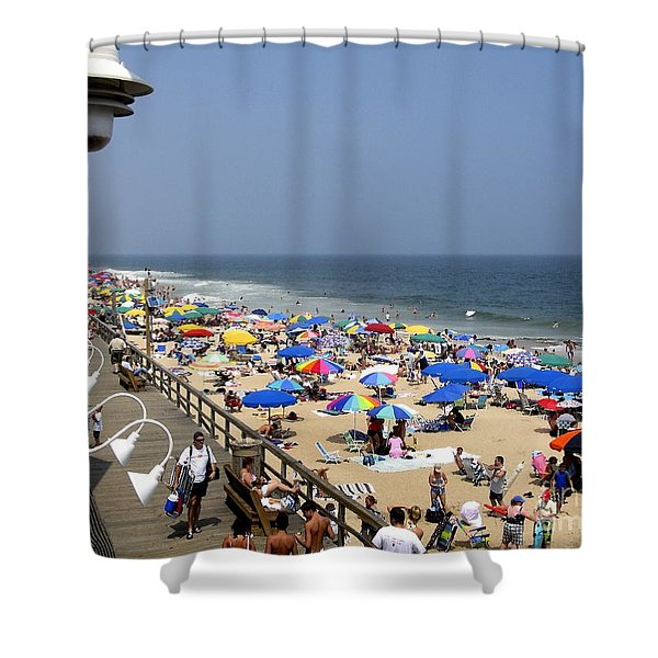 Good Beach Day At Bethany Beach In Delaware Shower Curtain