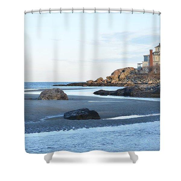 Good Harbor Beach Shower Curtain
