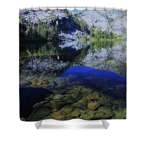 Good Morning Eagle Lake Shower Curtain