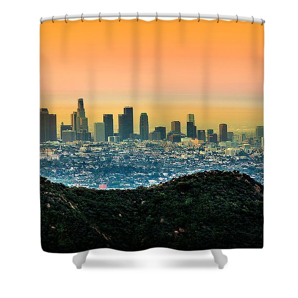 Good Morning La Shower Curtain