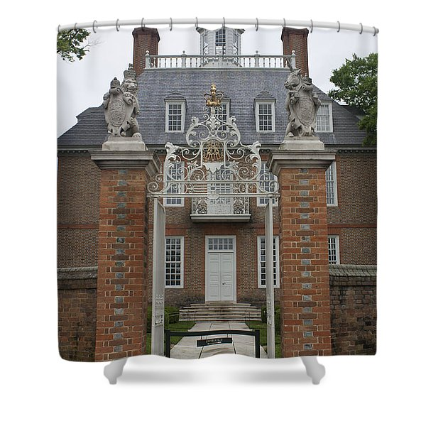 Governors Palace Shower Curtain