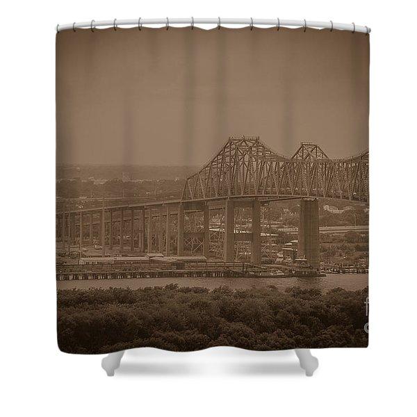 Grace And Pearman Bridges Shower Curtain