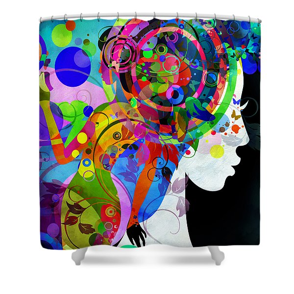 Grace Is Complicated Shower Curtain