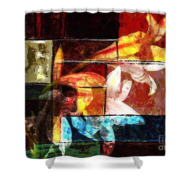 Gracefull  Shower Curtain