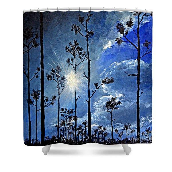 Grand Bahama Forest Shower Curtain