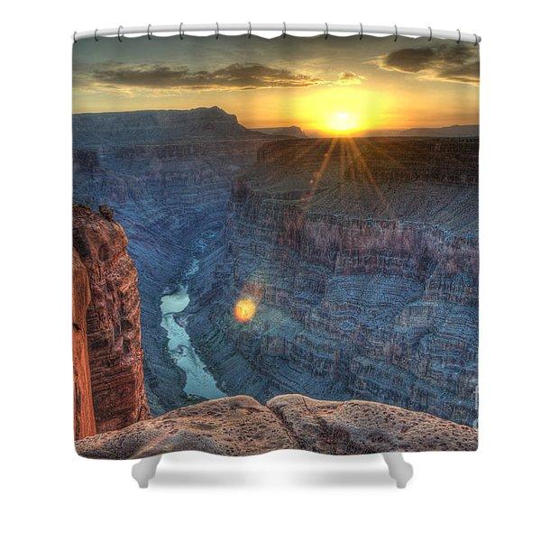 Grand Canyon First Light Shower Curtain