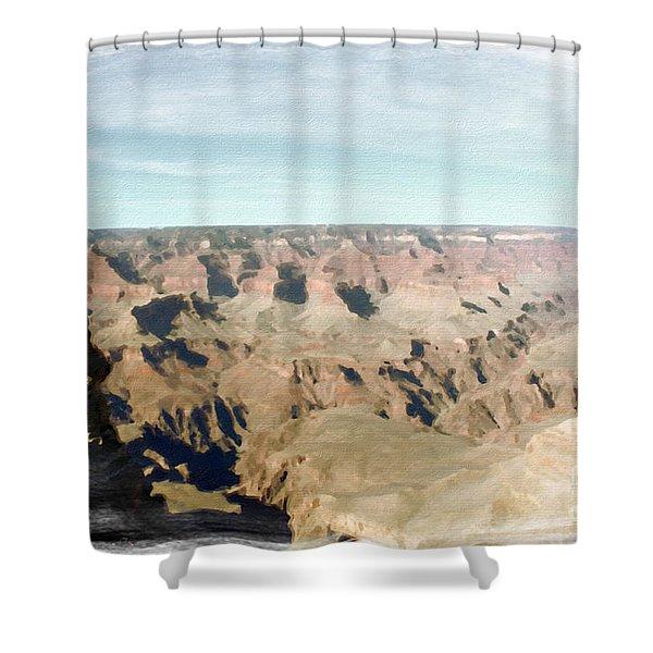 Grand Canyon Softness Shower Curtain