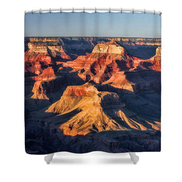 Grand Canyon National Park Sunset Shower Curtain
