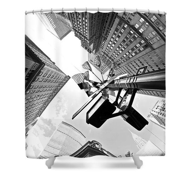 Grand Central America Shower Curtain