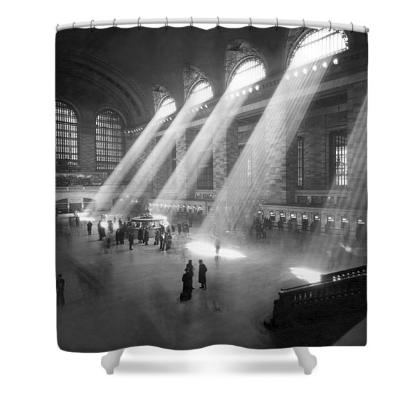 Grand Central Station Sunbeams Shower Curtain