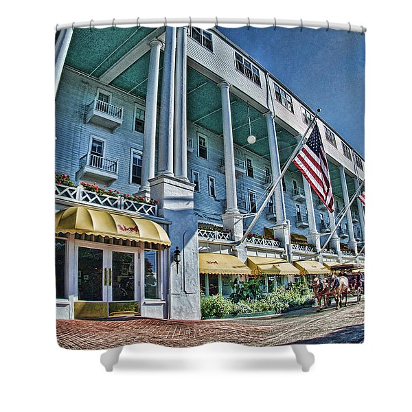 Grand Hotel - Image 001 Shower Curtain