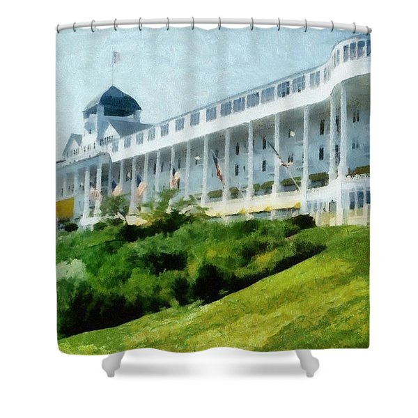 Grand Hotel Mackinac Island Ll Shower Curtain