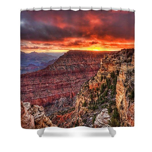 Grand Sunrise Shower Curtain