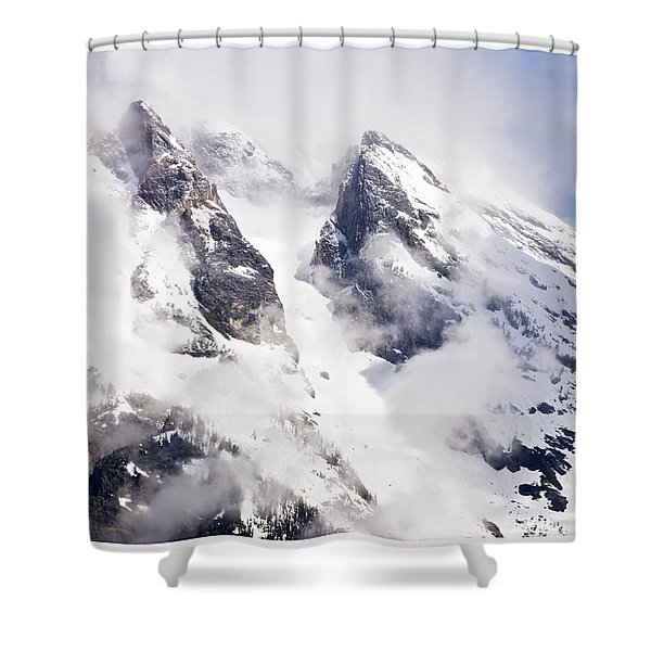 Grand Teton Glacier Shower Curtain