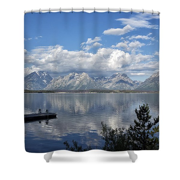 Grand Tetons In The Morning Light Shower Curtain